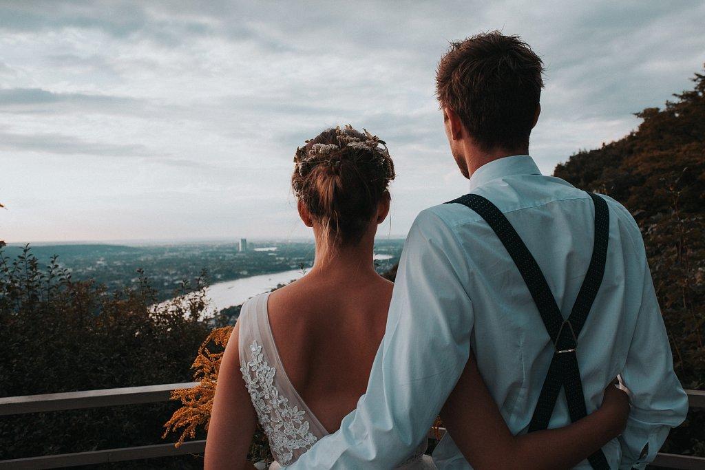 Hochzeitsfoto Siebengebirge